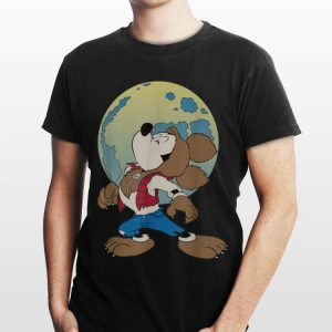 Disney Mickey Mouse Werewolf Halloween shirt