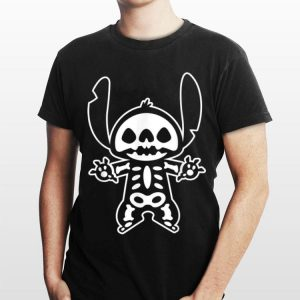 Disney Stitch Halloween Skeleton shirt