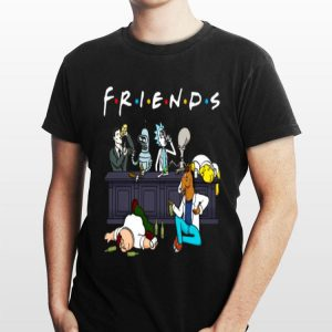 Friends Rick Sanchez Drinking Buddies shirt