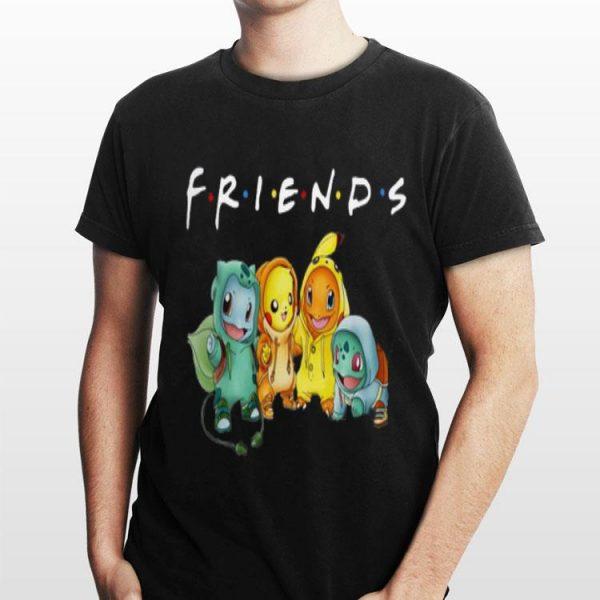 Friends TV Show Pokemon shirt
