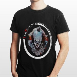 Halloween I Hate People Pennywise shirt