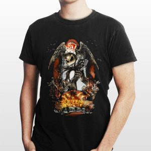 Halloween King Jack Skellington Queen Freddie Mercury Pumpkin shirt