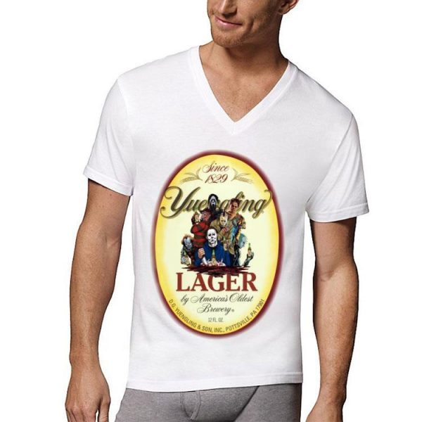 Horror Character Movie Since 1829 Yuengling Lager By America's Oldest Brewery shirt