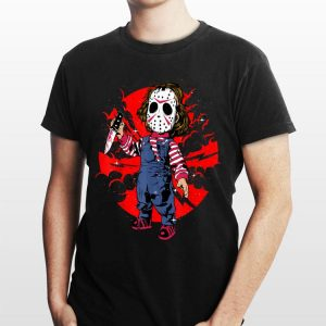 Horror Mashup jason voorhees And Chucky shirt