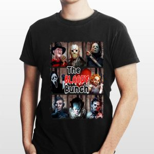 Horror Movies Characters The Bloody Bunch Halloween shirt