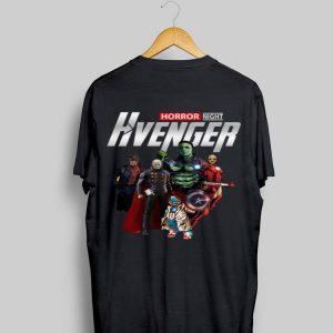 Horror Night Hvenger Avengers Halloween shirt