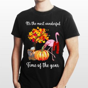 It's The Most Wonderful Time Of The Year Flamingo shirt