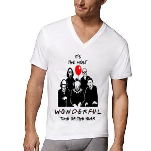 It's The Most Wonderful Time Of The Year Horror Characters shirt