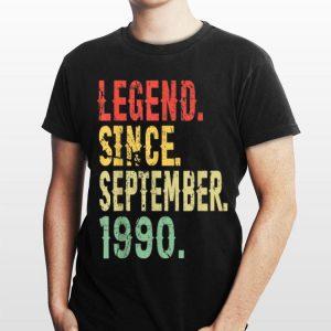 Legend Since September 1990 Vintage shirt