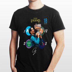 Living Legend 18 Grand Slam Rafael Nadal Signature shirt