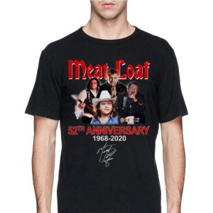 Meat Loaf 52th Anniversary 1968-2020 Signature shirt