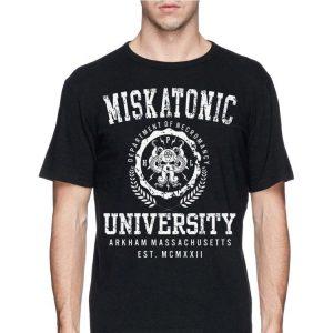Miskatonic Department Of Necromancy University Arkham Massachusetts shirt