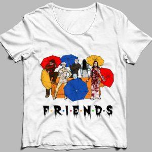 Halloween Horror Characters Friends shirt