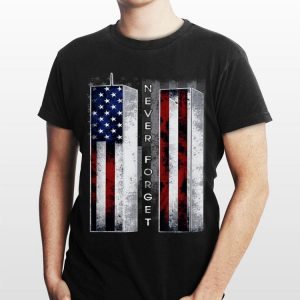Never Forget American Flag shirt