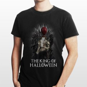 Pennywise The King Of Halloween Throne shirt