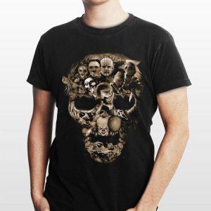 Skull Horror Character Movie shirt