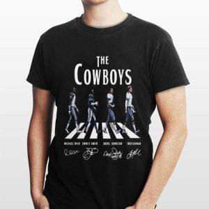 The Cowboys Abbey Road Signature shirt
