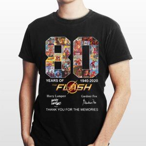 The Flash 80 Years 1940-2020 Thank You For The Memories shirt