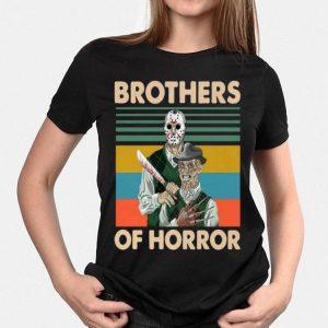 Vintage Jason Voorhees And Freddy Krueger Brothers Of Horror shirt