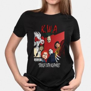 With Attitude Straight Outs Nightmares K.W.A Killers shirt