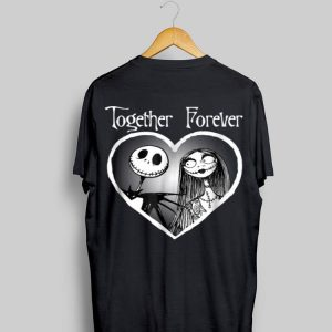 jack skellington and sally Together Forever shirt