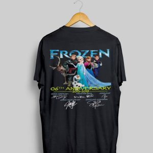 06th Anniversary Frozen 2013-2019 shirt