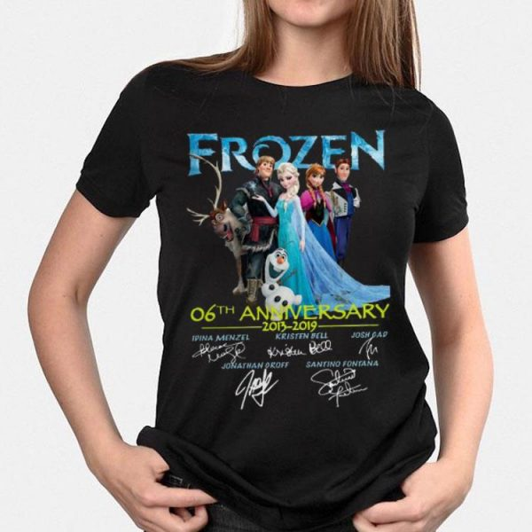 06th Anniversary Frozen 2013-2019 shirt