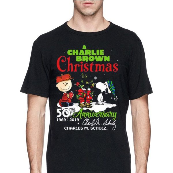 A Charlie Brown Christmas 50th Anniversary 1969-2019 Signature shirt