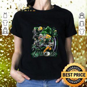 Best Marvel Avengers Green Bay Packers shirt
