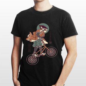 Biker Samurai Japanese shirt
