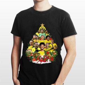 Borussia Dortmund Player Christmas Tree shirt
