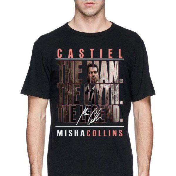 Castiel The Man The Myth The Legend Mishacollins shirt
