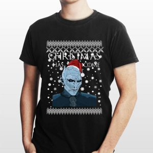 Christmas Has Come White Walker Game of Thrones shirt