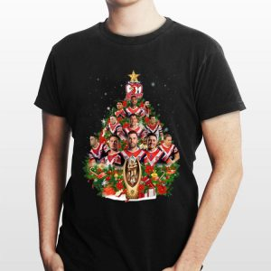 Christmas Tree Sydney Roosters Players shirt