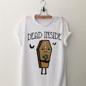 Coffin Dead Inside Halloween shirt