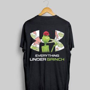 Everything Under Grinch Under Armour shirt