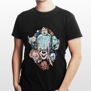 Face Of Pennywise Horror Character Movie shirt