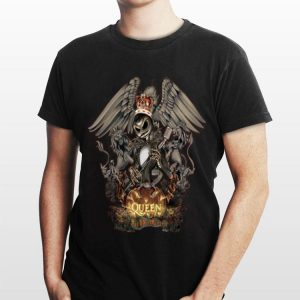 Freddie Mercury Queen Jack Skellington shirt