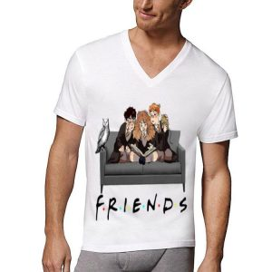 Friends TV Show Harry Potter Hermione And Ron Weasley shirt