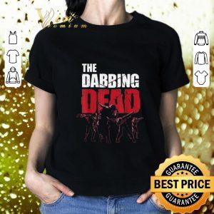 Funny The Dabbing Dead Zombie Walking Dab shirt