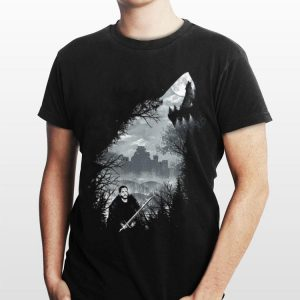 Game Of Thrones Jon Snow And Ghost shirt