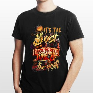 Halloween It's The Most Wonderful Time Of The Year shirt