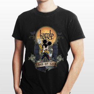 Halloween Mickey Freddie Mercury Lamb Of God shirt