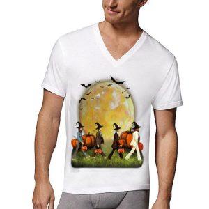 Halloween Moon Pumpkins The Beatles Abbey Road shirt