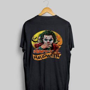 Happy Halloween Joker Joaquin Phoenix Sunset shirt