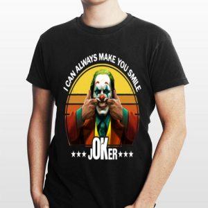 I Can Always Make You Smile Joker Vintage shirt
