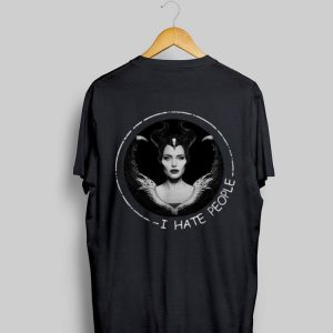 I Hate People Disney Maleficent shirt