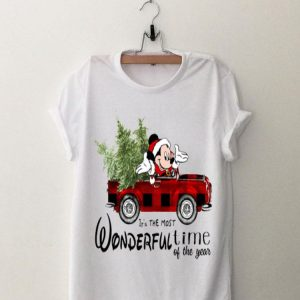 It's The Most Wonderful Time Of The Year Christmas Mickey Mouse shirt