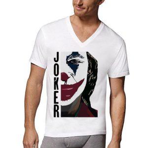 Joaquin Phoenix Joker Half Face shirt