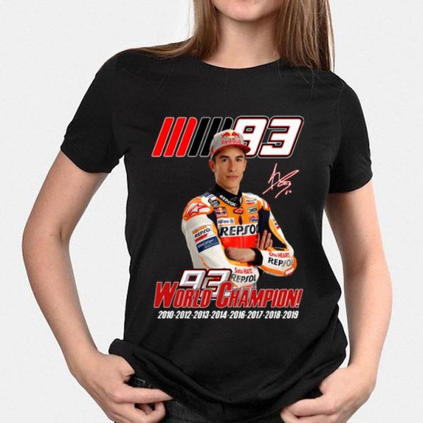 MM93 World Champion Marc Marquez shirt